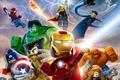 Картинка Джонни Сторм, Mister Fantastic, Наталия Романова, The Thing, Человек паук, ХАЛК, Тоr, Человек-факел, LEGO: Marvel ...