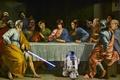Картинка Звёздные войны, тайная вечеря, прикол, Star Wars, герои