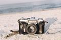 Картинка пляж, тень, объектив, Canon