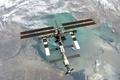 Картинка Earth, ISS, Space Station, Orbit