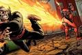Картинка огонь, зажигалка, fire, Deadpool, Marvel, Дэдпул, комикс, comics, бензин, Марвел, магия Дэдпула