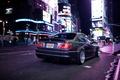 Картинка огни, ночь, tuning, BMW, город, бмв, E46