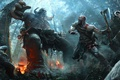 Картинка Воин, Sony, Kratos, Кратос, God Of War, 2017, Спартанец, Jose Daniel Cabrera Peña
