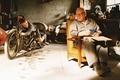 Картинка фон, Энтони Хопкинс, Самый быстрый Индиан, The World's Fastest Indian, Anthony Hopkins, фильм, мужчина, моточикл, ...