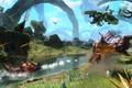 Картинка Avatar, аватар, игра, река, битва, вертолёт