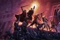 Картинка монстры, битва, game wallpapers, герои, Pillars of Eternity, замок