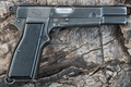 Картинка оружие, самозарядный, Browning Hi-Power, пистолет