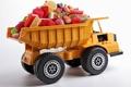 Картинка сладости, игрушка, грузовик, конфеты, мармелад, транспорт