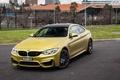 Картинка авто, фары, капот, BMW, Coupe, передок, Competition Package, M4