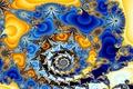 Картинка цвет, узор, фрактал, спираль