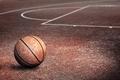 Картинка спорт, мяч, площадка, баскетбол