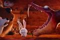 Картинка fang, snake, Snowball, habbit, pet, dog, graphic animation, cartoon, Duke, comedy, The Secret Life of ...
