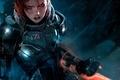 Картинка game, игра, броня, FemShep, Шепард, Mass Effect 3, Shepard