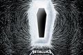 Картинка death magnetic, Metallica, полюса, гроб