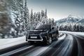 Картинка зима, дорога, скорость, Lexus, лексус, LX 070