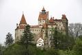 Картинка Деревья, Город, Румыния, Bran Castle, Замок, фото