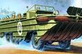 Картинка рисунок, арт, GMC, World War II, Дженерал Моторс, DUKW-353, General Motors Corporation, amphibious truck, Амфибийное ...