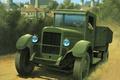 Картинка представлял, собой, арт, грузовика, дорога, Нижегородского, модернизирован., изначально, копию, лицензионную, впоследствии, известный, (в 1932 году), ...