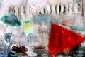 Картинка капли, дождь, cafe Amore