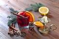 Картинка елка, горячий, апельсин, свеча, Рождество, Новый год, hot, корица, background, orange, New Year, candle, cinnamon, ...