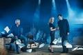 Картинка Дэвид Духовны, Секретные материалы, Джиллиан Андерсон, Крис Картер, Untitled X-Files Revival