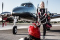 Картинка plane, freestyle, skydiving, skydiver, extreme sport, freefly, freeflying, Inka Tiitto