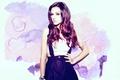 Картинка поза, взгляд, татуировка, актриса, певица, девушка, тату, Cher Lloyd, Шер Ллойд, модель