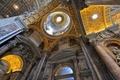 Картинка фрески, Ватикан, купол, собор Святого Петра, религия