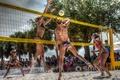 Картинка women, set, spike, beach, Volleyball, block, summer, serve, dig