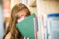 Картинка взгляд, девушка, книга