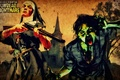 Картинка церковь, Undead Nightmare, револьвер, нежить, зомби, крест, кровь, монашка, ружье