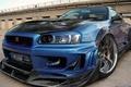 Картинка суперкары, карбон, тюнинг, Nissan GT-R