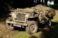 """Картинка мировой, Второй, времён, Jeep, дорога, автомобиль, проходимости, повышенной, армейский, """"Виллис-МВ"""", войны, Willys MB"""