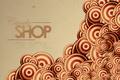 Картинка круги, абстракция, полосы, надпись, узоры, линий, слова, stripes, circles, patterns, lines, words, abstraction, lettering, candy ...