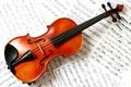 Картинка Скрипка, ноты, классика