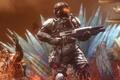 Картинка оружие, рендеринг, Killzone: Shadow Fall, шлем, Shadow Fall, солдаты, helghast, killzone