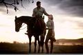Картинка Хью Джекман, Кино, свет, лощадь, Автстралия 2008 год, Николь Кидман