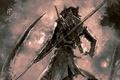 Картинка арт, коса, Охотник, Hunter, art, Bloodborne