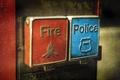 Картинка пожарная, полиция, кнопки