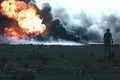 Картинка солдаты, дым, Огонь, Ирак