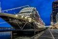 Картинка Night, Cruise Ship, Amsterdam