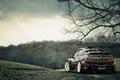 Картинка Mitsubishi, тюнинг, спорт, lancer, evolution, лес