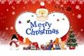 Картинка подарки, Mery Christmas, Санта, новый год
