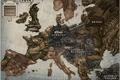 Картинка artwork, fantasy art, miscellanea, art, Europe, map, steampunk, fantasy