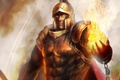 Картинка fire, prometheus, god, helmet