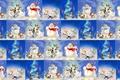 Картинка текстура, фон, настроение, праздник, Новый год, игра, снеговик