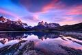 Картинка облака, горы, Патагония, небо, Чили