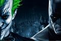 Картинка Batman arkham asylum, джокер, ворота