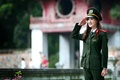 Картинка девушка, азиатка, униформа