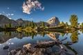 Картинка Dolomite Lake, Dolomite Alps, South Tyrol, Italy